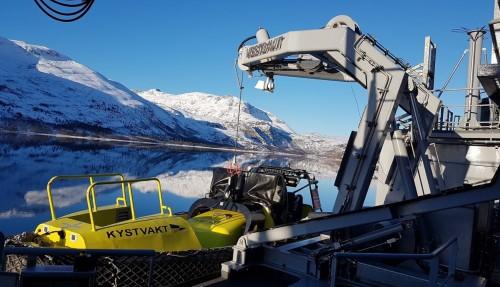 Norwegian Coastguard, Photo Credit, Vestdavit