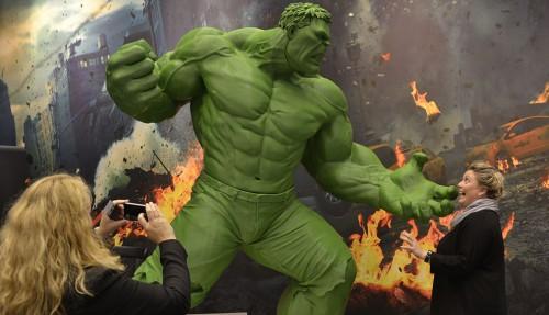 Tegneseriefiguren Hulken laget med 3D-printer førte til at det vesle firmaet Meisle fikk mest oppmerksomhet blant årets ONS-utstillere.