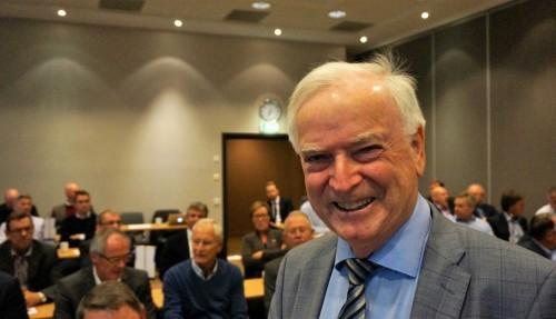 """Per Sævik har nå blitt """"hurtigrute-eier"""" gjennom sitt nye rederi Havila Kystruten. Foto: Havyard"""