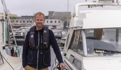 Petter A. Søreng, leder av fritidsbåtseksjonen. Foto: Sjøfartsdirektoratet
