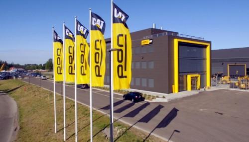 Pon Powers hovedkontor  på Berger utenfor Oslo.