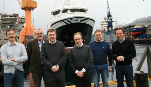 Robert Jensen, Yngvar Gustavsen, Knut Roald Holmøy, Ola Helge Holmøy, Roger Paul Hauge, Ståle Rasmussen