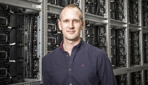 Daglig leder i PSW Power & Automation, Eirik Sørensen. Foto: PSW