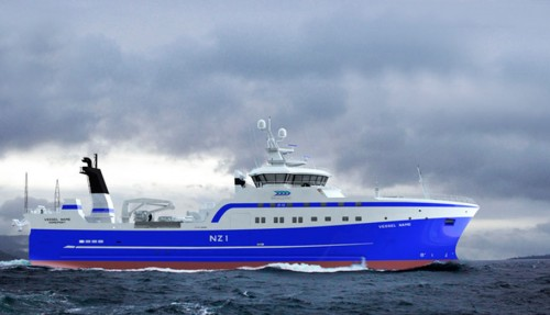 Denne båten skal Simek bygge for et rederi i Ny Zealand.