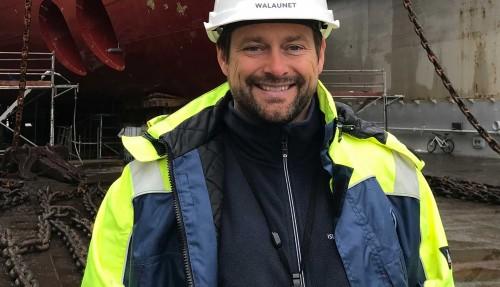 Administrerande direktør i Island Offshore, Tommy Walaunet. Foto: Island Offshore