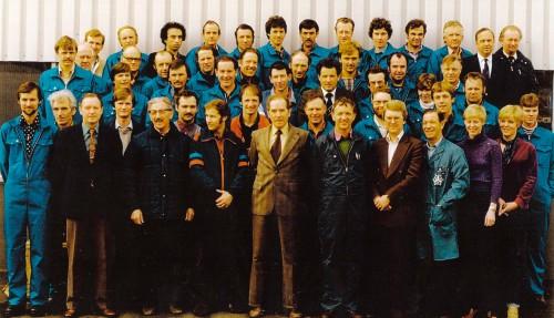 Ulstein Propeller fikk sin oppstart i 1965, og ble raskt en viktig utstyrsleverandør. Arkivfoto: Ulstein Verft