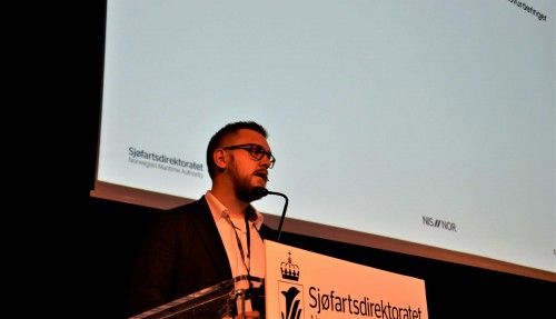 Seniorrådgivar Vegar Berntsen i Sjøfartsdirektoratet. Foto: Thomas Førde