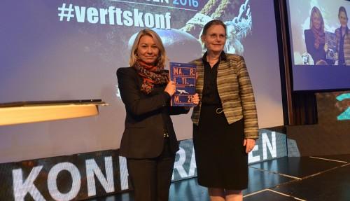 Næringsminister Monica Mæland