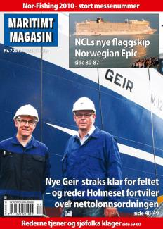 Forsiden av nr. 7/2010