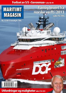 Forsiden av nr. 12/2013