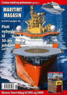 Forsiden av nr. 8/2014