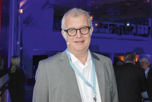 Helge Hermundsgård er business development manager cruise i DNV GL. Foto: Kurt W. Vadset