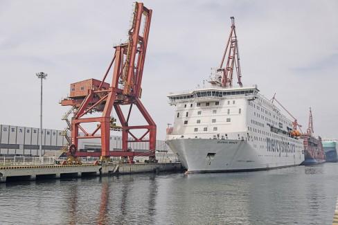 Global Mercy er snart klart for seiling. Foto: Mercy Ships