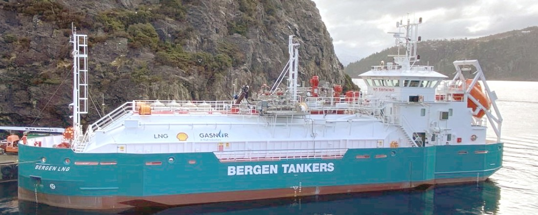 Bergen LNG and will play a major role in setting the standard and establishing the infrastructure for Norway's LNG shipping sector.