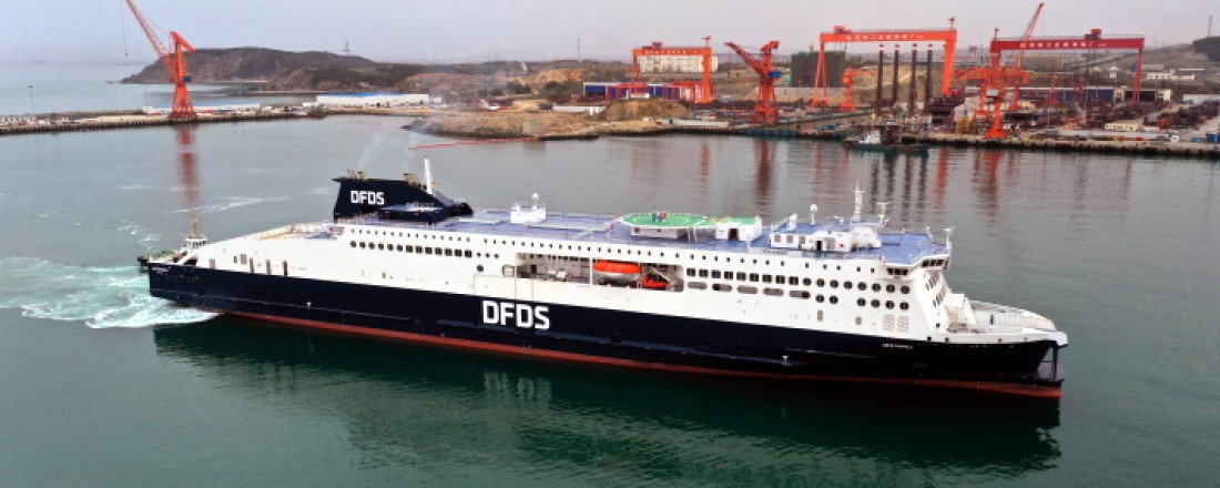 Cote d Opale is delivered to DFDS