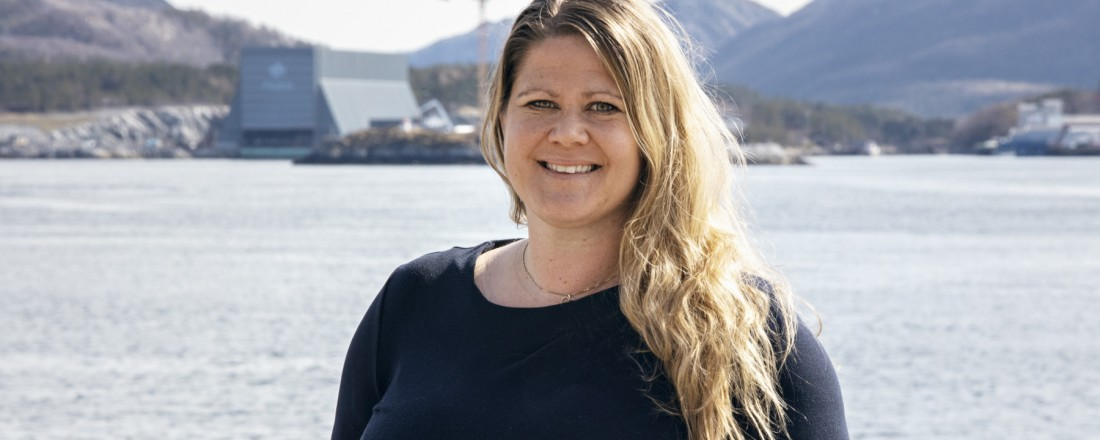 Sunniva Nicolaisen gå fra Sparebank1 SMN til Moen-konsernet. Foto: Moen.