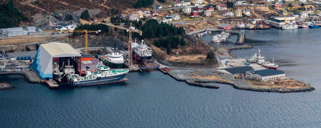 Baatbygg fra Raudeberg har vunnet en omfattende ombyggingskontrakt med Fjord1. Foto: Baatbygg