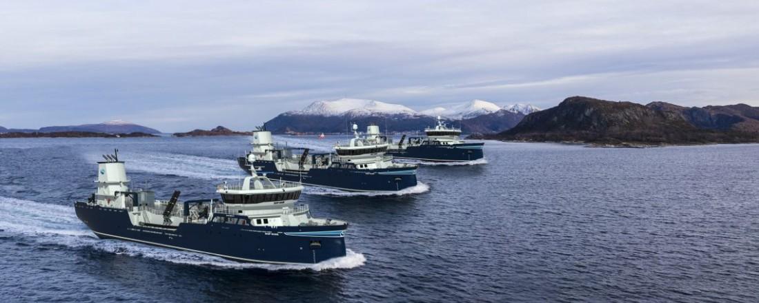 De tre Sølvtrans-fartøyene er søsterskip. Illustrasjon: Aas Mek.