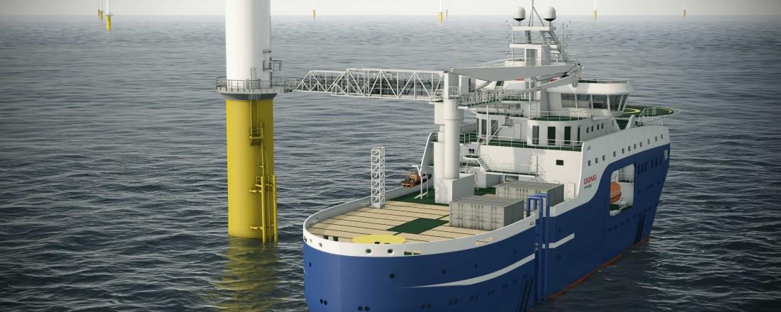Gangveiene fra Uptime skal sikre trygg vare- og persontransport. Illustrasjon: Salt Ship Design/Uptime/cemre