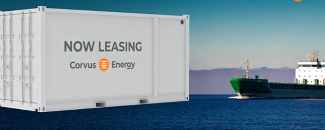 Corvus Energy tilbyr nå leasing av batteri til skip i samarbeid med Viridis Kapital . Foto: Corvus Energy