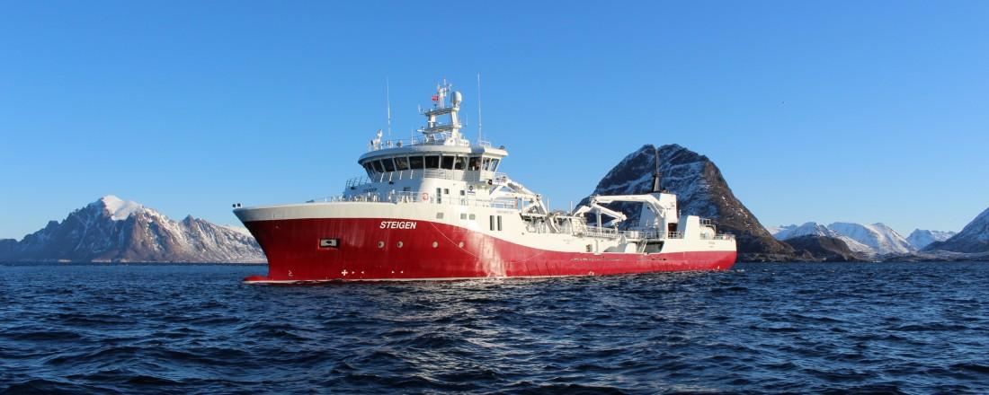 Nybygget fra Havyard blir lik Steigen, levert i juni 2017. Foto: Havyard