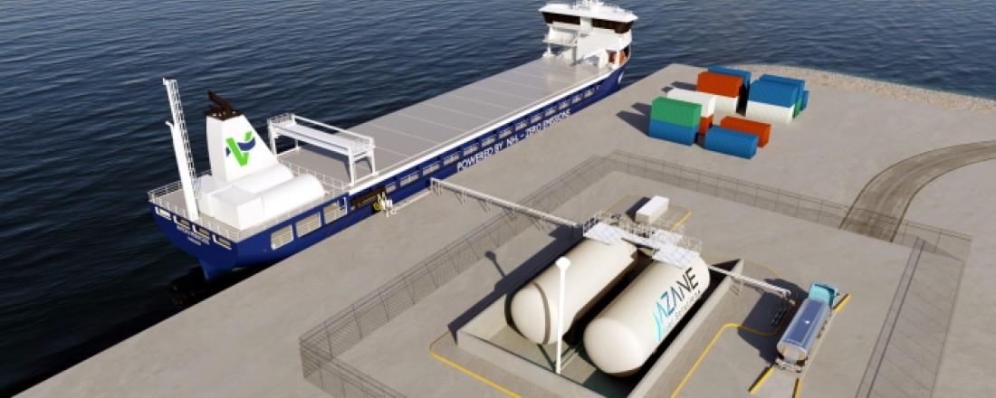 Azane Fuel Solutions vil utvikle fleksible bunkringsterminaler for ammoniakk for å fjerne eksisterende barrierer for implementering av ammoniakkdrivstoff.