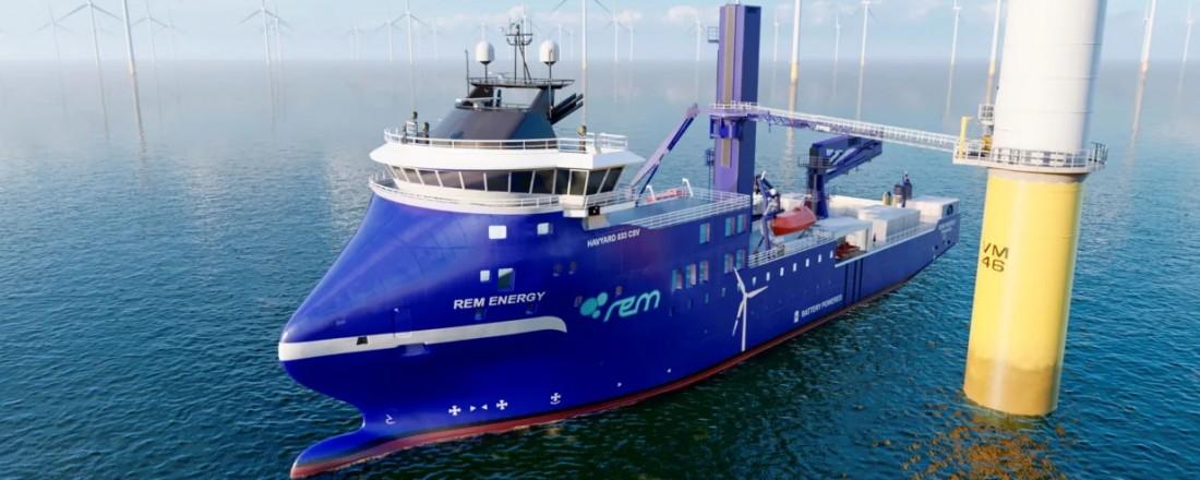 Herøy-selskapet REM Offshore AS har skrive kontrakt med Green Yard Kleven i Ulsteinvik om å bygge eit havvindfartøy. Bygg 398 skal ferdigstillast som ein CSV (Construction Service Vessel) for REM Offshore.