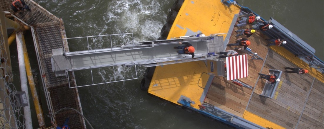 It is a big potential for gangway solutions from Undertun in Malaysia. Photo: Undertun.