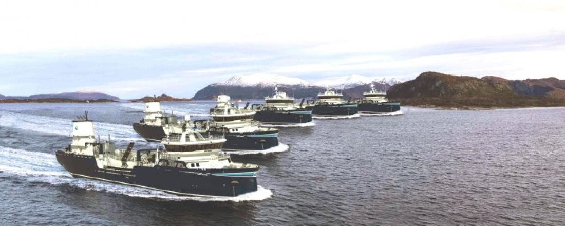 To nye brønnbåter til Sølvtrans får utstyr fra Hydroniq Coolers. Illustrasjon: Sølvtrans.