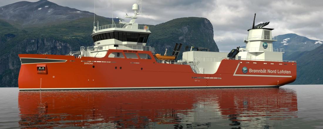 Aas Mek. Verksted er fornøyd med enda en kontrakt på en brønnbåt. Foto: Aas Mek.