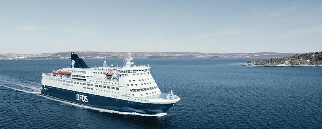 Crown Seaways blir fortsatt den ene av to ferjer som skal trafikkere mellom Oslo og København, og vil nå også anløpe Frederikshavn. Foto: DFDS