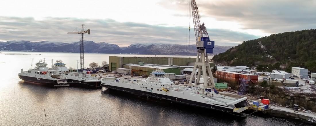 Havyards verft i Leirvik. Foto: Havyard.