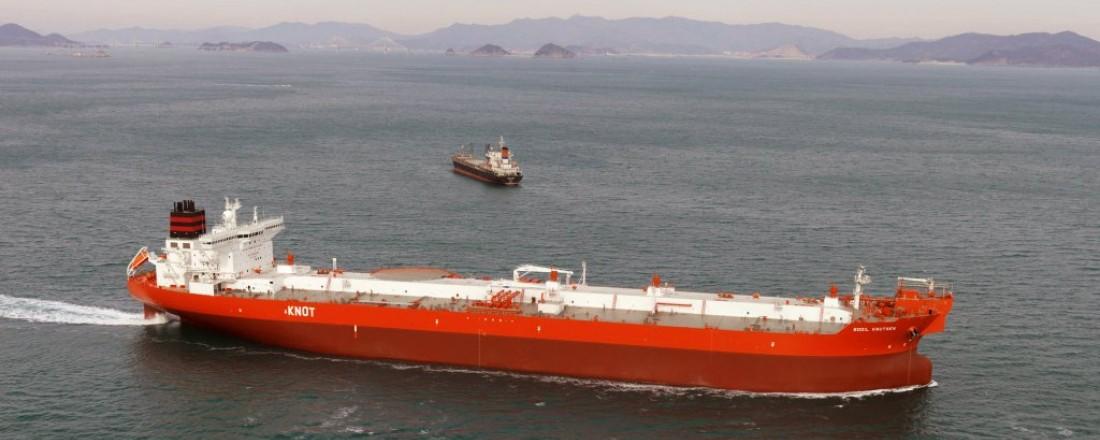 Bodil Knutsen er ett av fartøyene i Knutsens flåte av skytteltankskip. Foto: Knutsen NYK Offshore Tankers