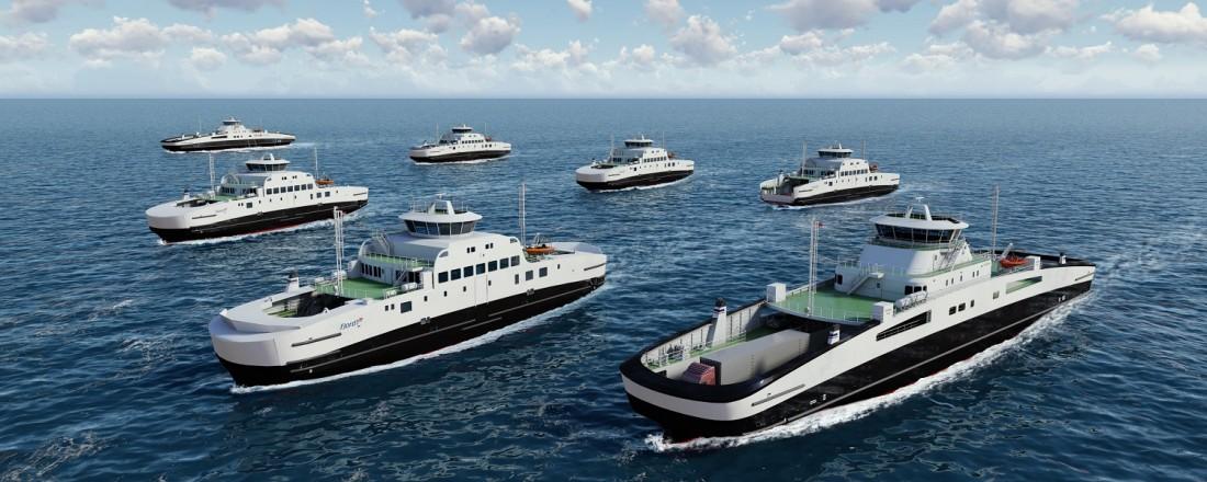 Survitec Norway AS har signert en ny langsiktig rammeavtale med Fjord1 ASA. Illustrasjon: Havyard