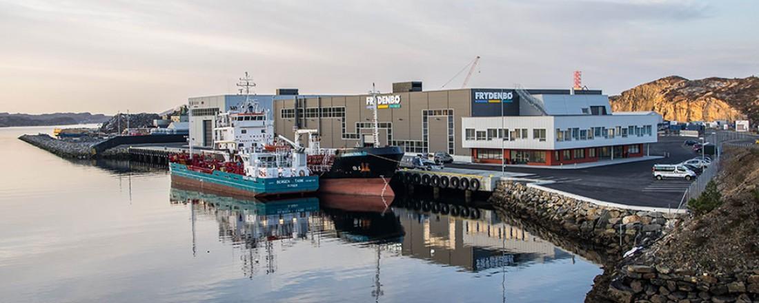 Frydenbø Industriers anlegg på Hanøytangen. Foto: Frydenbø