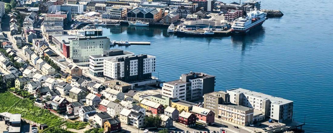 Hammerfest. Foto: Hammerfest Næringsforening