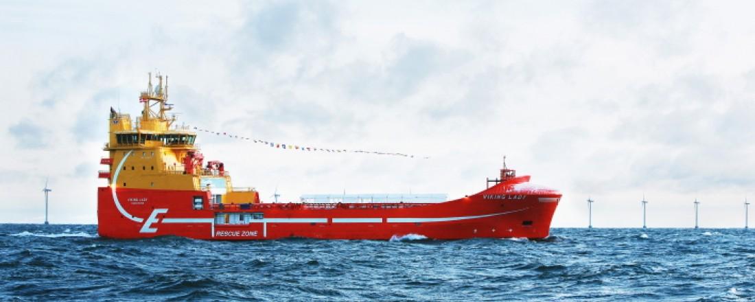 The hybrid vessel Viking Lady. Photo: DNV GL