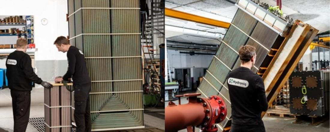Hydroniq Coolers har levert selskapets største sjøvannkjølingssystem noensinne. Foto: Hydroniq Coolers/Tony Hall.