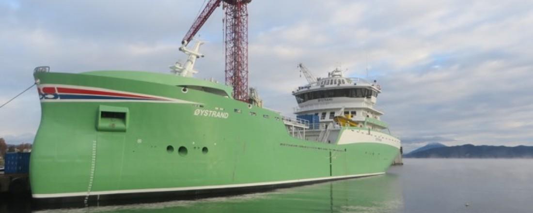 Øystrand er nyeste fartøy ut fra Aas Mek. Foto: Vasco Pinhol
