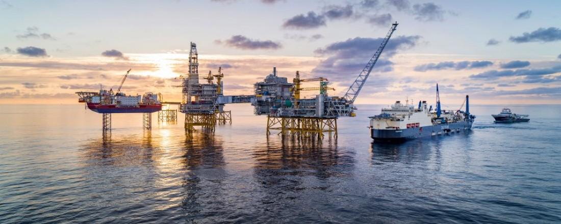 Johan Sverdrup er det tredje største olje- og gassfelt i Nordsjøen. Foto: Equinor