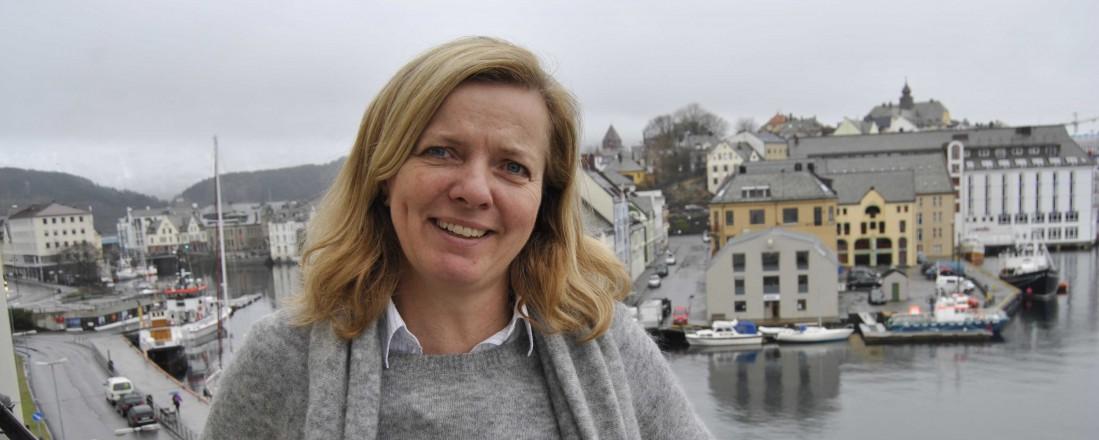 Kirsti Lovise Slotsvik går fra stillingen som leder av Kystverket til Jernbanedirektoratet. Foto: John Inge Vikan