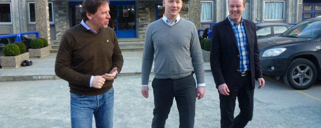 Ståle Rasmussen, Jan Arild Vik og Ronald Dyrhold