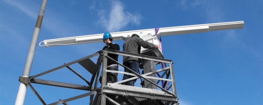 Kongsberg Norcontrol har signert rammeavtale med Kystverket for leveranse, drift og vedlikehold av radarer til sjøtrafikksentraltjenesten. Foto: Kongsberg