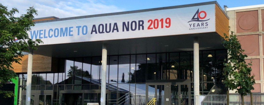 Messearrangøren håper det skal være mulig å arrangere Aqua Nor i Trondheim Spektrum i 2021. Foto: John Inge Vikan.