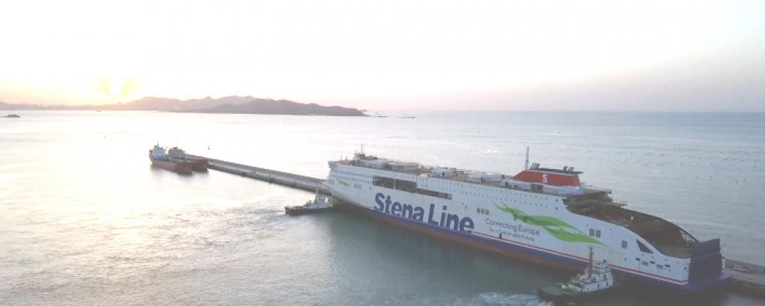 Stena Line is well underway in modernising its large European fleet of ferries. Photo; CMI Jinling Weihai Shipyard