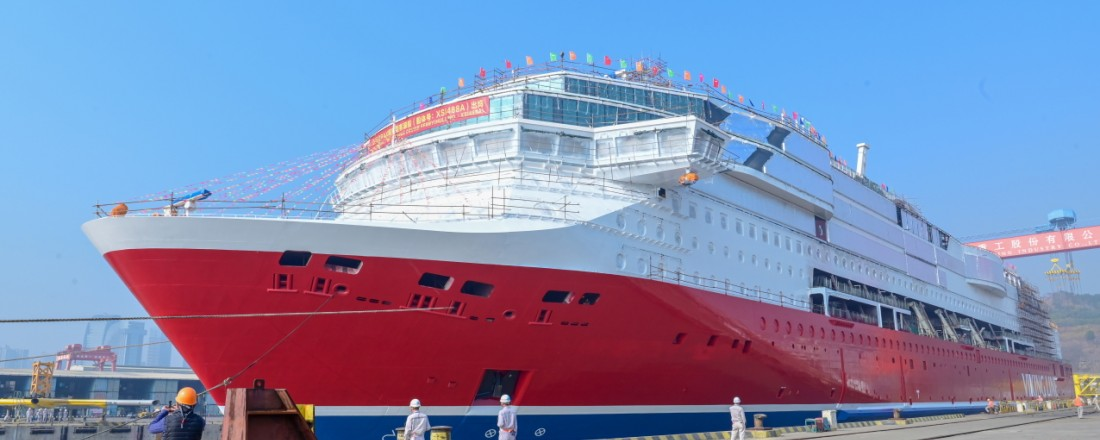 Viking Glory is to be delivered in late 2021. Photo: Viking Line