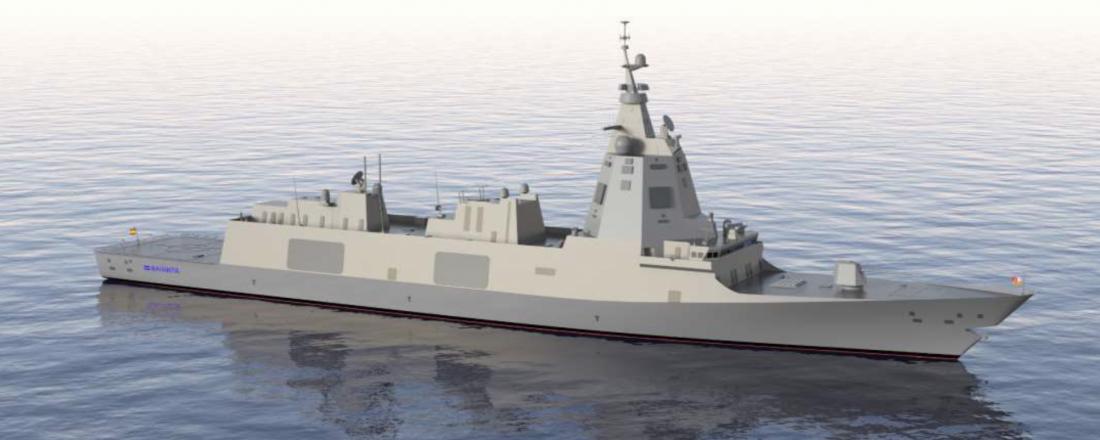De nye spanske fregattene er designet av Navantia