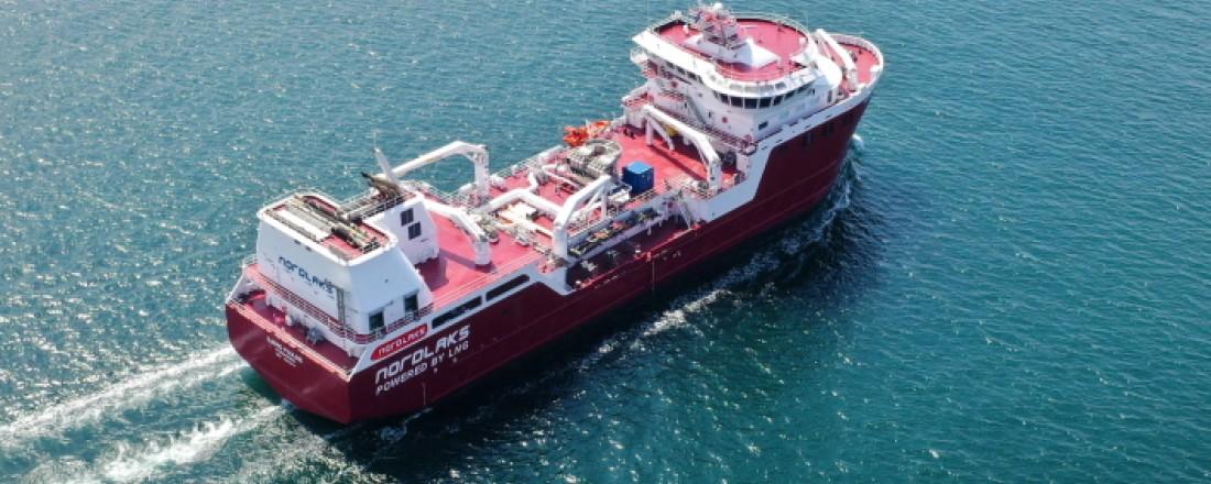 Tersan Shipyard's project no. NB1088, named after Bjørg Pauline. Photo: Tersan.