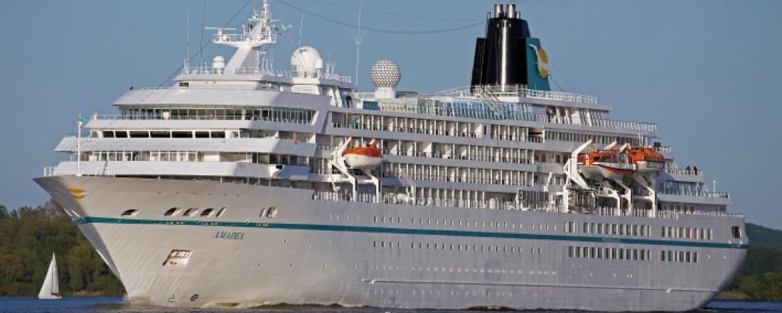 The flag ship MS Amadea of the German cruise company Phoenix Reisen. Photo: Phoenix Reisen.