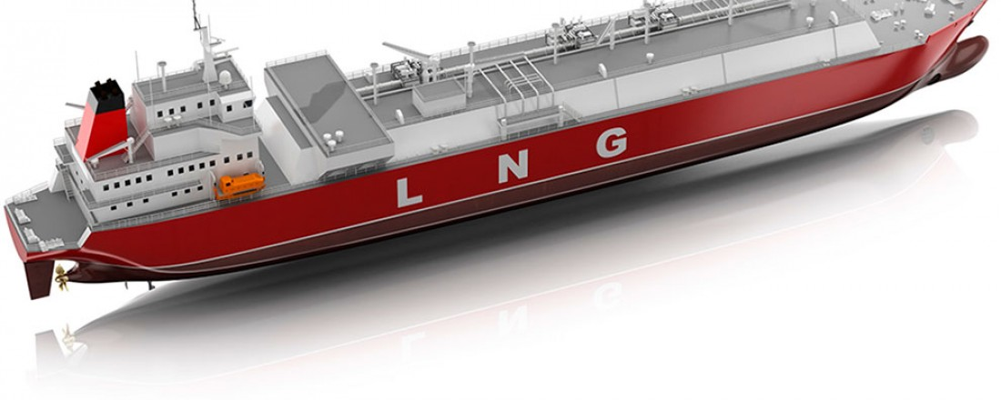 LNG skip
